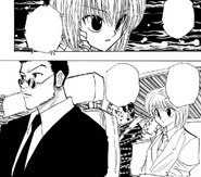 Chap 115 - Kurapika calling with instructions for the Troupe