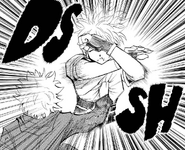 Chap 113 - Killua trying to kill Machi