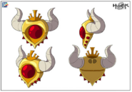 Pendragon Amulet Stock Art
