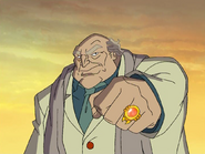 S1E22 Professor Araknos ring
