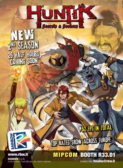Huntik S2 poster mag.png