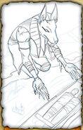 Ferryman (Pencil Sketch)