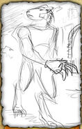 Wolf Knight (Rough Sketch)