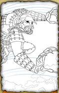 Iron Monkey (Pencil Sketch)