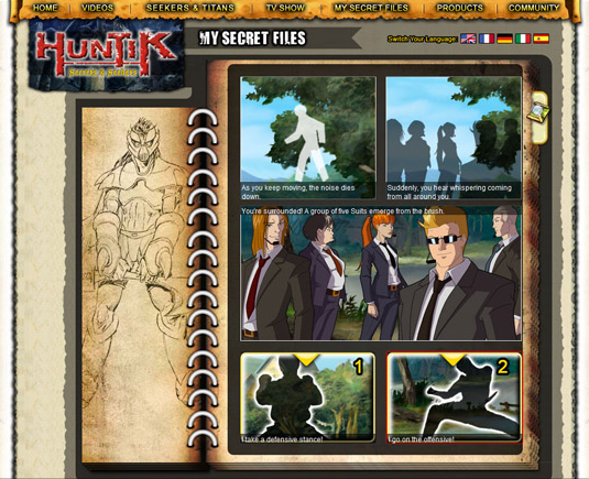 Huntik.com Adventure game.png