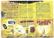 Huntik Panini Sheet S1 Back