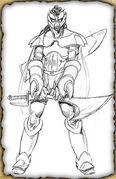 Caliban (Pencil Sketch)