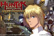 Huntik Titan Defence Game Menu