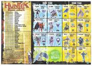 Huntik Panini Sheet S1