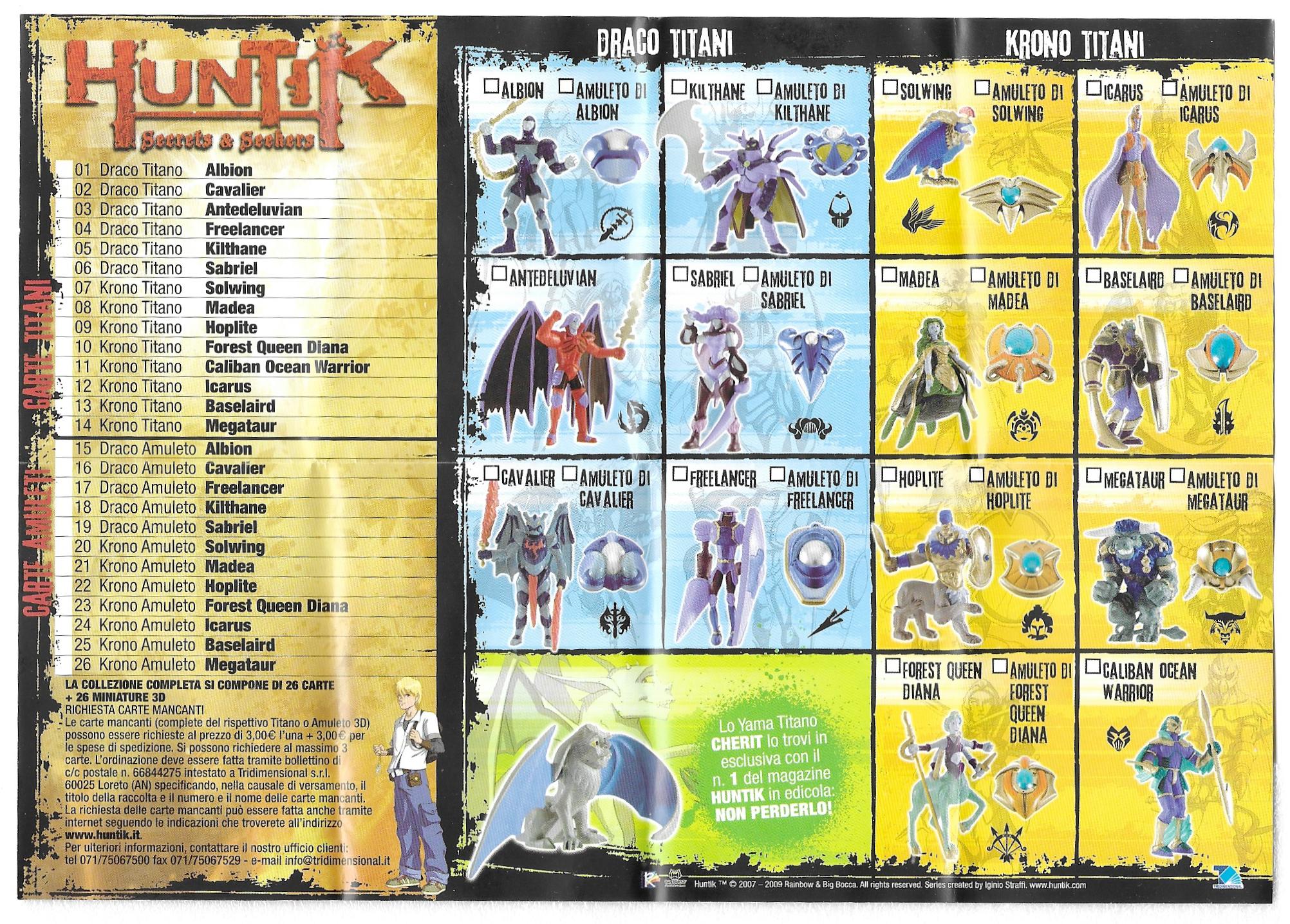 Huntik Panini Sheet S1.png
