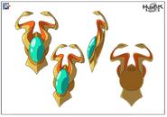 Medusa Amulet Stock Art