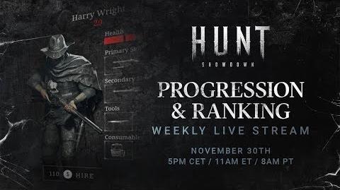 Hunt Showdown Developer Livestream 3 Progression & Ranking System