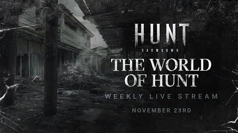 Hunt Showdown Developer Livestream 2 The World of Hunt