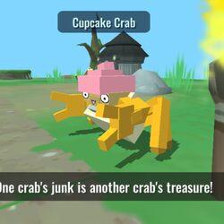 Cupcake Crab