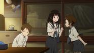 Mayaka is angry with Satoshi