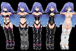 Details about  /M1150 Hyperdimension Neptunia Plutia Iris Heart Anime Playmat CCG Mat Game Mat