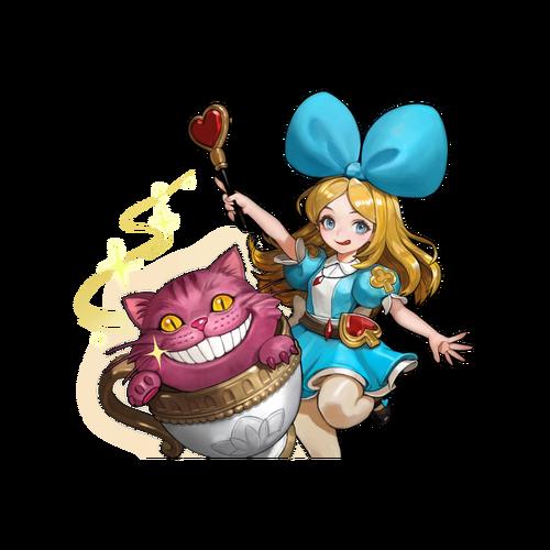 Alice and Cheshire Skin