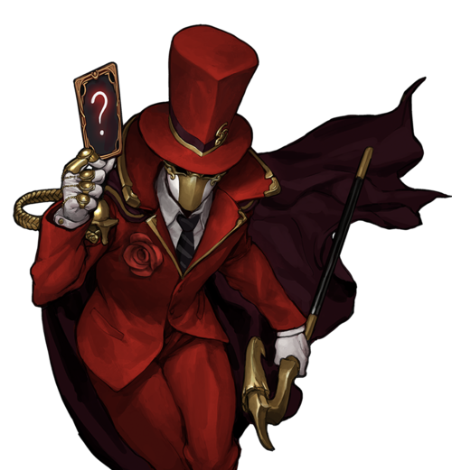 Red Rose Magician Skin