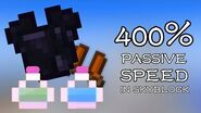 400% PASSIVE SPEED in Skyblock - Wise Armor Replacement
