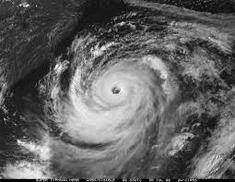 Typhoon Atsani shortly after attaining peak intensity.