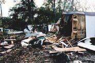 Hurricane Bonnie VA damage