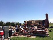 EF3 damage from 2013 El Reno tornado