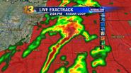 Tyler, Texas tornado radar