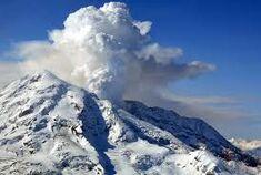 The Volcano venting some, Nine Days Prior