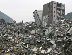 Some of the worst damage caused by the quake