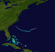 Subtropical Storm Arthur (2018) Track 2