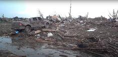 High-end EF4 damage in Lansing, Michigan.