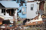 EF3 damage to house on January 21, 2017