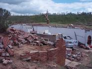 Spencer EF3 damage