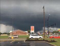 Tornado at peak strength at 3:11 PM.
