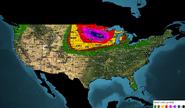 Day 6 Tornado Outlook