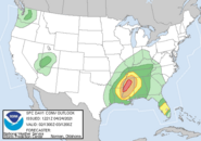 4-24-21 outbreak spc risk map
