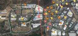 Vista CA tornado path - Faraday Avenue.png