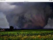 Tornado as it closes in