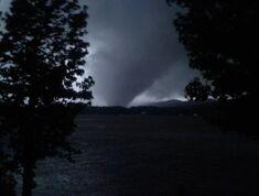 Tornado near peak strength at 7:36 PM.