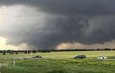 The Allison, Texas EF5 near peak strength.