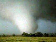 The tornado at peak intensity