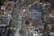 High end EF2 tornado damage in New Orleans