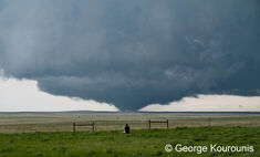 The Mulhall, Oklahoma EF4 near peak strength.