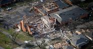 Possible EF4 damage in New Orleans, LA 2017