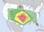 March 23, 2018 Tornado Outbreak Outlook (Hitman)