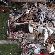 High end EF3 damage in New Orleans in Februry 2017