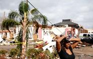EF2 damage in New Orleans