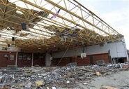 The tornado hit a school YAY!