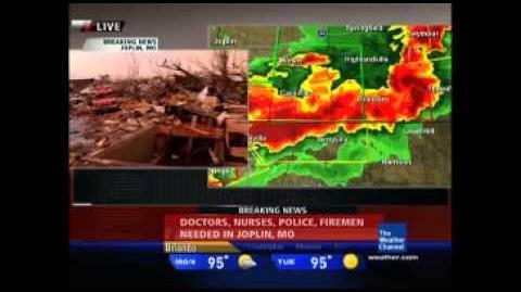 Joplin Tornado Live Coverage