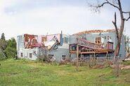 EF3 house damage
